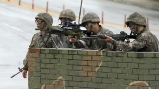 Truy lùng binh sĩ Hàn Quốc giết 5 đồng đội ở biên giới