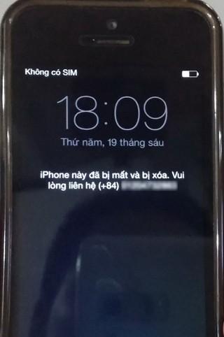 Vô hiệu hóa iPhone để kiếm tiền