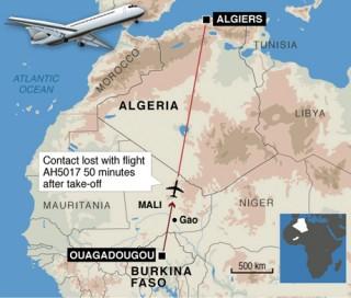 Pháp điều binh sĩ đảm bảo hiện trường tai nạn máy bay Algeria