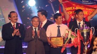 Tưng bừng Gala trao giải các giải bóng đá chuyên nghiệp Việt Nam 2014