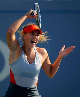 Giải quần vợt Mỹ mở rộng: Hồi hộp với Sharapova