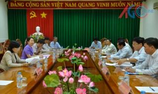 Phó Bí thư Thường trực Tỉnh ủy Võ Thị Ánh Xuân: Châu Thành cần tập trung sản xuất nông nghiệp theo hướng hiện đại để phát triển bền vững