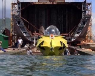 Việt Nam chế tạo thành công tàu lặn mi ni Hòa Bình