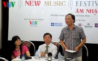 """""""Festival Âm nhạc mới Á-Âu 2014"""" hội tụ các tài năng âm nhạc thế giới"""