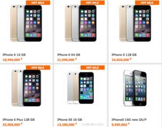 Giá iPhone 6 xách tay đã ổn định