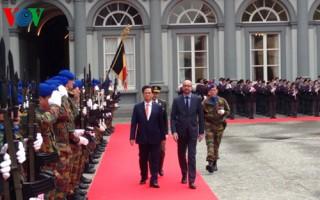 Đưa quan hệ hợp tác Việt Nam-Bỉ đi vào chiều sâu và thiết thực