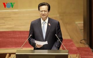Toàn văn báo cáo của Thủ tướng Nguyễn Tấn Dũng tại Kỳ họp thứ 8