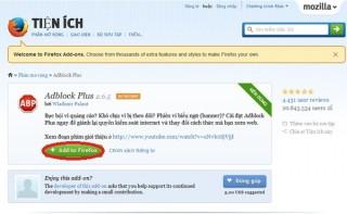 Dùng Adblock Plus chặn quảng cáo trên Chrome, Firefox, Internet Explorer
