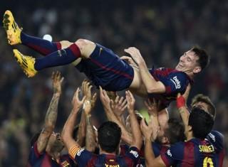 Lập hattrick, Messi trở thành chân sút số 1 trong lịch sử La Liga