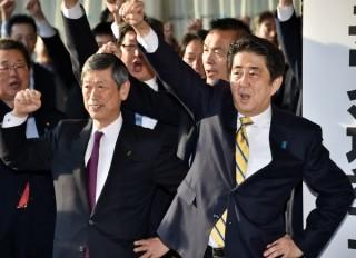 Đảng của Thủ tướng Abe dẫn đầu cuộc thăm dò trước bầu cử
