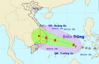 Bão Sinlaku hướng vào Bình Định - Khánh Hòa