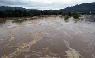 Nhiều vùng ở Phú Yên bị lũ cô lập sau bão