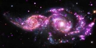 NASA tiết lộ những gì xảy ra khi thiên hà va chạm
