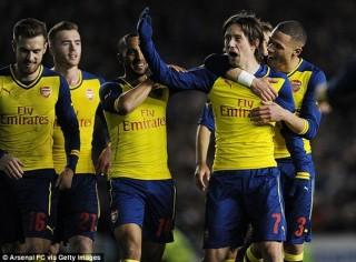 """Bốc thăm vòng 5 FA Cup: Arsenal đụng """"hung thần"""" của Man City"""