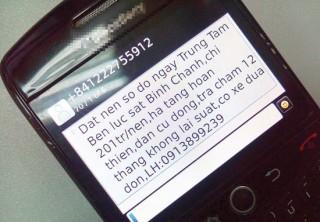 Mạnh tay với tin nhắn rác