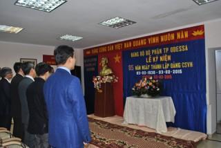 Đảng bộ Odessa (Ukraine) kỷ niệm thành lập Đảng Cộng sản Việt Nam
