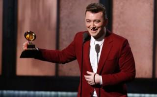 Sam Smith thắng lớn tại giải Grammy 2015