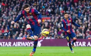 """Messi lập kỷ lục """"khủng"""" trong ngày Barca thắng đậm Levante"""
