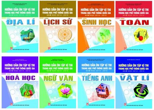 Bộ GD-ĐT không biên soạn bộ sách Hướng dẫn ôn tập kì thi THPT quốc gia năm học 2014-2015