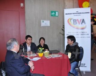 Việt Nam tham dự Hội chợ việc làm sinh viên lớn nhất tại Bỉ