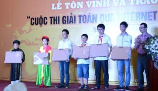 Học sinh đạt giải vàng ViOlympic được tuyển thẳng vào đại học