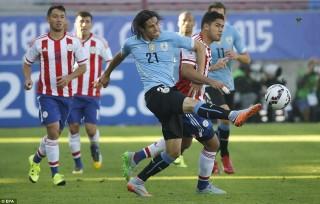 Cặp tứ kết đầu tiên Copa America được xác định