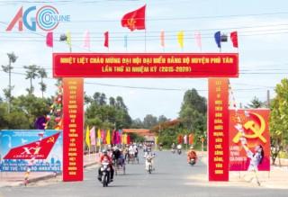 Chào mừng Đại hội Đảng bộ huyện Phú Tân lần XI: Quyết tâm đột phá tạo sức bật phát triển