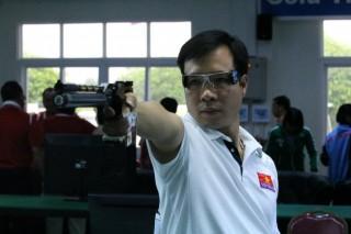 Hoàng Xuân Vinh giành HCB tại World Cup bắn súng