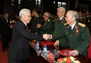 Tổng Bí thư phát biểu chỉ đạo Đại hội Đảng bộ Quân đội