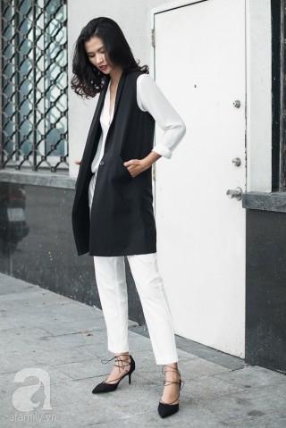 1 chiếc áo gilet - 5 cách kết hợp để cả tuần không nhàm chán