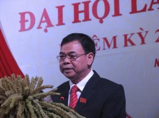 Ông Võ Thành Hạo tiếp tục làm Bí thư Tỉnh ủy Bến Tre