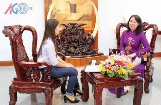 Trả lời phỏng vấn Báo An Giang, Bí thư Tỉnh ủy Võ Thị Ánh Xuân: Thành tựu nhiệm kỳ 2010- 2015 tạo động lực đưa An Giang phát triển bền vững