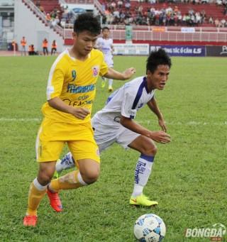 Thắng kịch tính An Giang, U21 Hà Nội T&T vô địch Giải U21 QG 2015