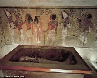 Khám phá chấn động về lăng mộ của Hoàng đế Ai Cập Tutankhamun