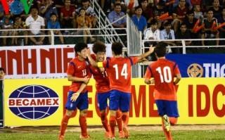 U21 HAGL thất bại trong trận ra quân giải U21 Quốc tế