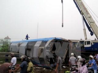 Năm 2015: Tai nạn đường bộ giảm, tai nạn đường sắt tăng đột biến