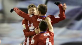 Hạ Celta Vigo, Atletico Madrid đòi lại ngôi đầu bảng