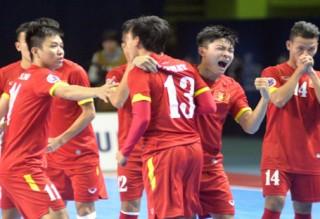 Futsal Việt Nam nhảy vọt trên bảng xếp hạng FIFA