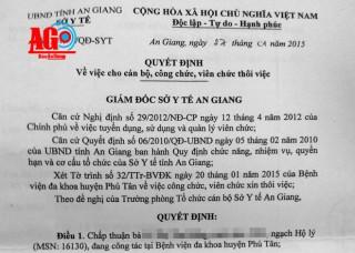 Nhiều đơn mạo danh ở Phú Tân