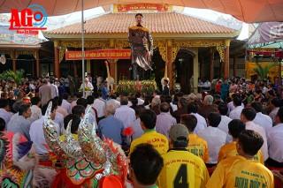 Lễ giỗ lần thứ 143 Đức Cố quản Trần Văn Thành tại xã Phú Bình