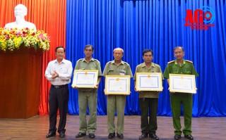 Phát huy tốt vai trò lực lượng Bảo vệ dân phố