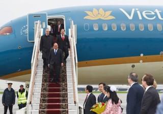 Hình ảnh: Ngày đầu tiên Thủ tướng Nguyễn Xuân Phúc thăm chính thức Nga