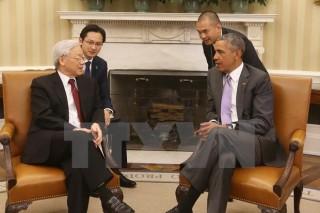 Phát triển toàn diện và thực chất quan hệ Việt Nam và Hoa Kỳ