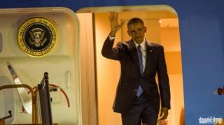 Tổng thống Hoa Kỳ Obama đến Hà Nội, bắt đầu thăm Việt Nam