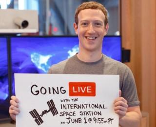 Đúng 23 giờ 55 đêm nay (1-6) Facebook sẽ phát video trực tiếp từ trạm không gian ISS