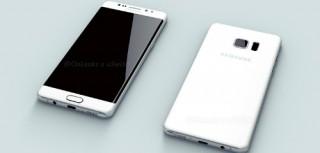 Galaxy Note 6 màn hình cong lần đầu lộ diện