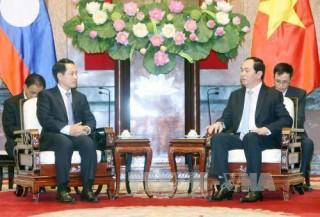 Thúc đẩy quan hệ hữu nghị truyền thống với Lào và Campuchia