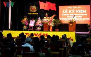Chủ tịch nước trao Huân chương Quân công cho Học viện An ninh