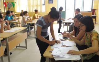 Hôm nay, hơn 887.000 thí sinh làm thủ tục dự thi THPT Quốc gia 2016