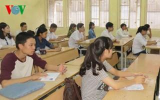 Kỳ thi THPT Quốc gia 2016: Hơn 871.000 thí sinh làm bài thi môn Toán